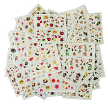 50pcs Random Designs Nail Art Water Transfer Sticker Declas Full Cover Wraps Colorful Tips Decoration DIY Slider Manicure SABOP