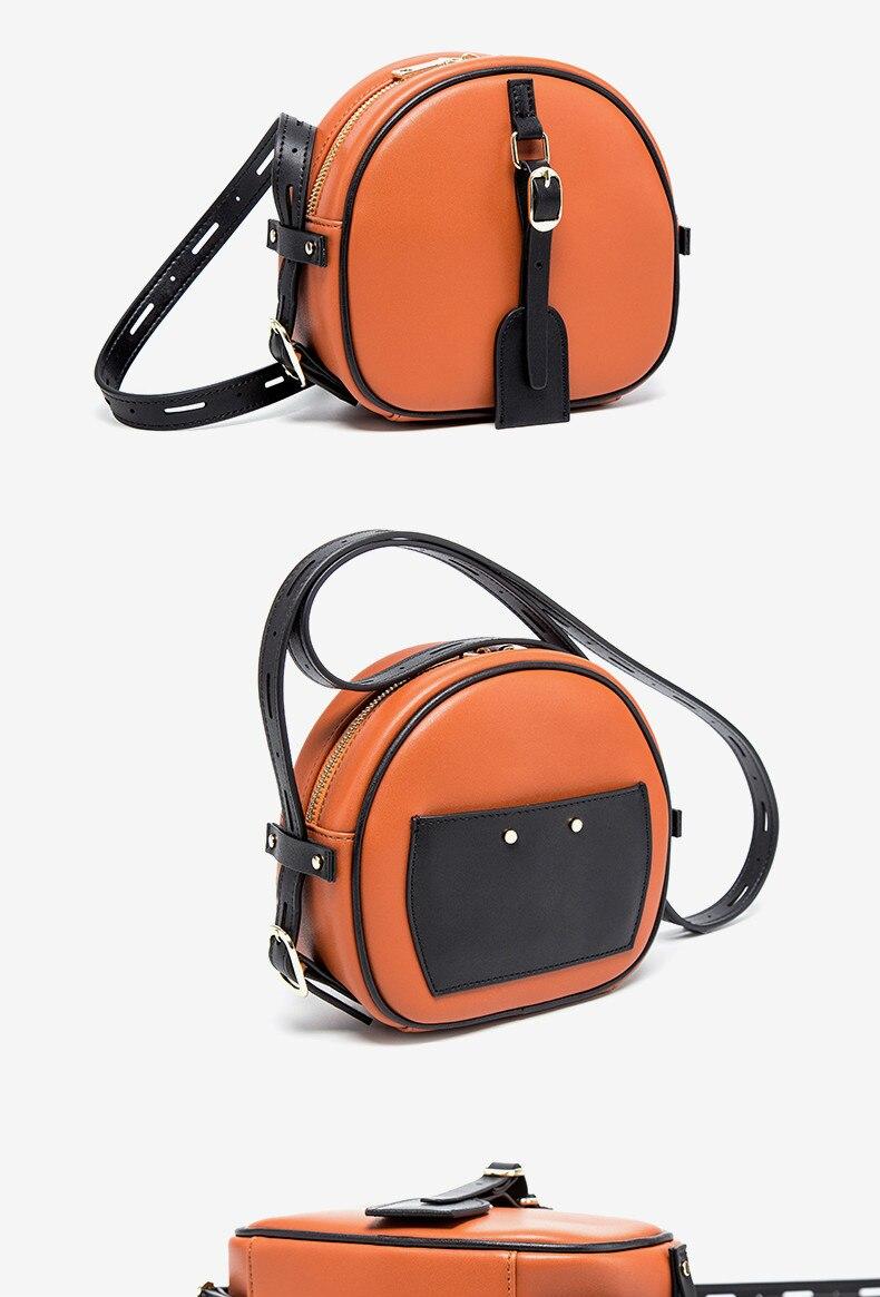 ombro das senhoras bolsa redonda b1608