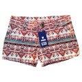 Verano Más Tamaño Pone en Cortocircuito/de Las Mujeres Pantalones Cortos Pantalones Cortos Mujer Bermudas Bermudas Mulheres de Impresión Cortos de Verano Femenino