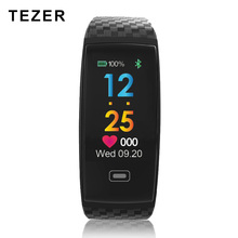 Tezer R17 font b Smart b font Bracelet Waterproof ECG Real time Minitor Dynamic Heart Rate