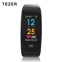 Tezer R17 Smart Bracelet Waterproof ECG Real time Minitor Dynamic Heart Rate Sport Fitness Wristband Support USB charge Watch