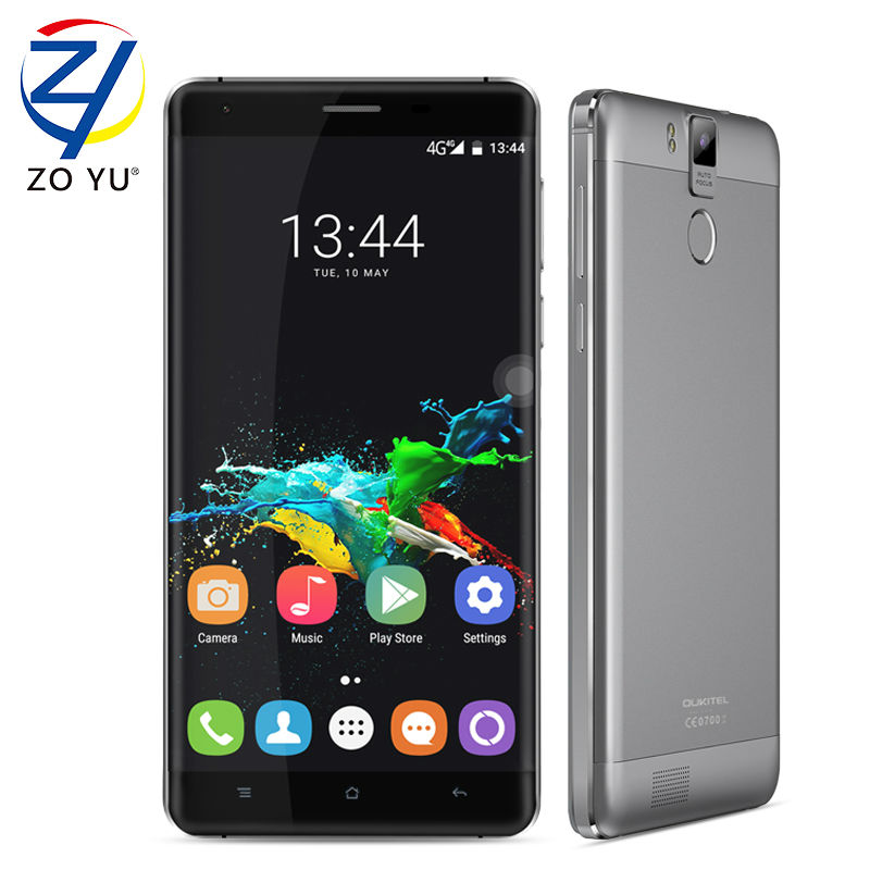 Oukitel k6000 pro Android 6 0 Smartphone 4gLTE Mobilephone 3G 32G 16 0MP 5 5HD MT6753