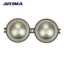 "AIYIMA 2Pcs 1"" Inch Tweeter Speaker 4Ohm 20 30W Treble Speaker Audio Loundspeaker For Car Audio DIY"