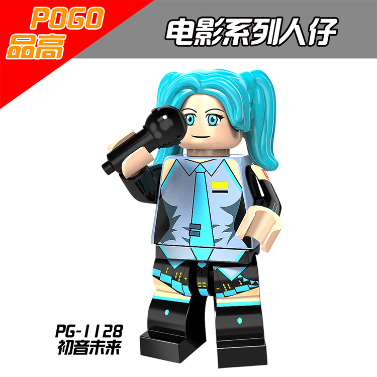 Japanese Anime Series Hatsune Miku Minifigured Building Blocks Figure Bricks Toys Gift Compatible With Bela