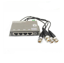 high definition 4channel passive CVI ADH TVI PTZ balun for security system