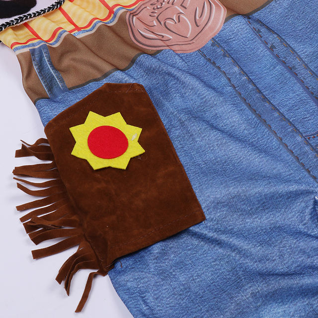 Cosplay Woody Deluxe Toy Story for Children