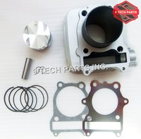 Free shipping GN250 GN 250 GZ250 BIG BORE Cylinder Kit 78mm Bore kit Upgrade to 300 cc GN300 improve performance