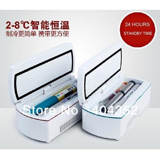 2-8 degrés Celsius refroidisseur Médical/Insuline glacière De Voiture Petit Réfrigérateur 24 HEURES VEILLE BC-170A +
