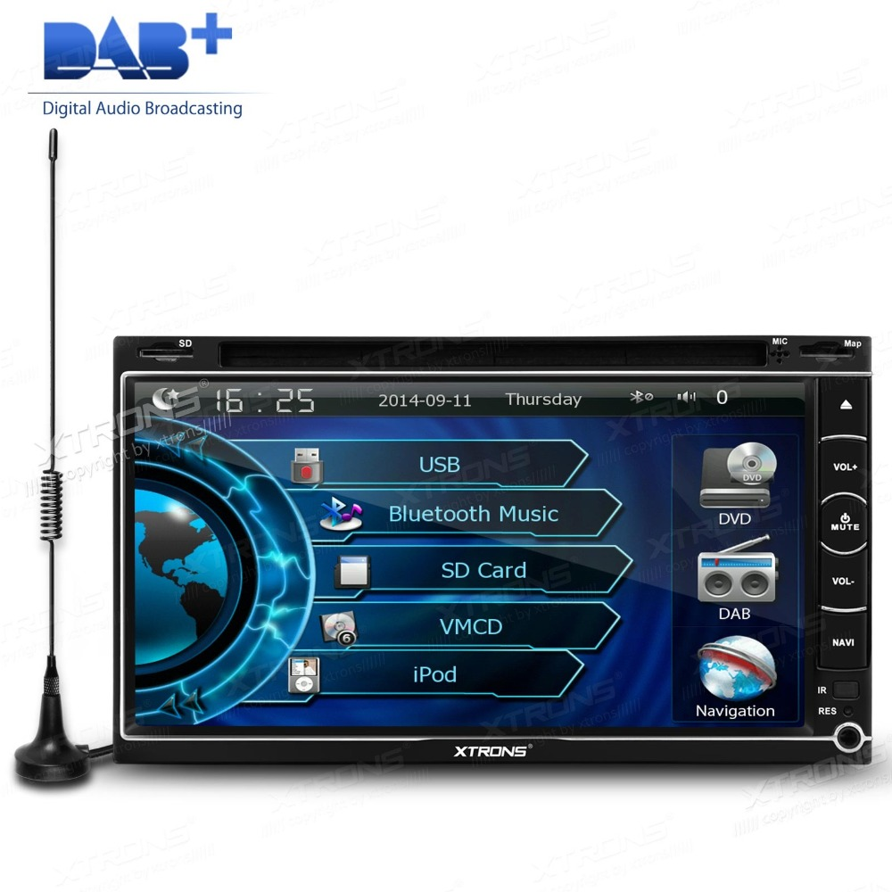 6.95 inch Double 2Din Car Stereo DVD GPS Navigation Built-in DAB+ Tuner Virtual 6 CDC Colorful Chameleon Buttons Bluetooth Radio - MountainTop Technology Co.,LTD store