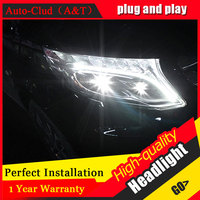 Auto Clud Car Styling For Benz Vito Headlights 2017 For Vito Head Lamp Led DRL Front