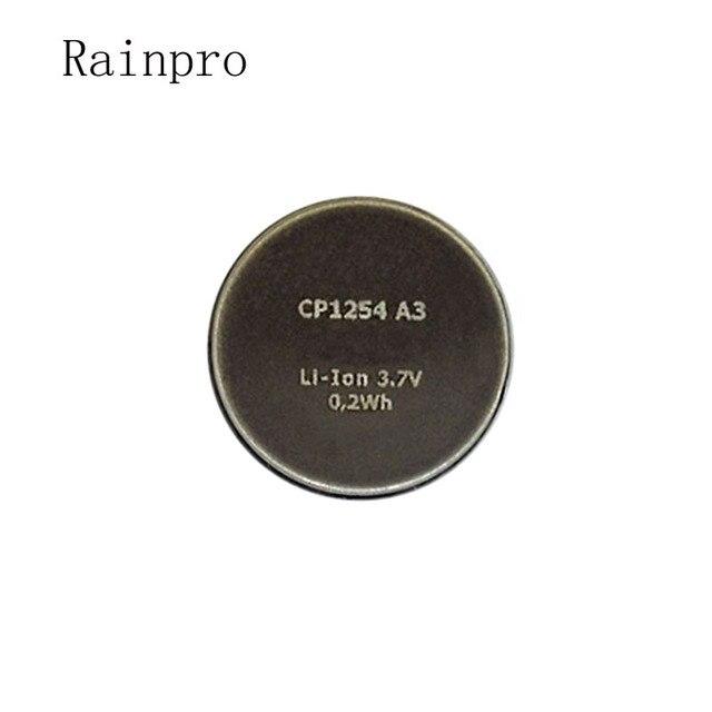 Rainpro 1 pièces/lot CP1254 A3 batterie au lithium rechargeable haute capacité 3.7V pour Bracelet écouteur Bluetooth LIR1254