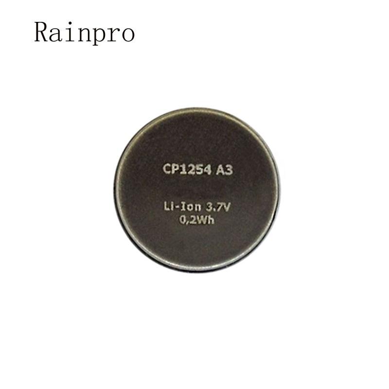 Rainpro 1PCS/LOT CP1254 A3 High Capacity Rechargeable Lithium Battery 3.7V For Bluetooth Earphone Bracelet LIR1254