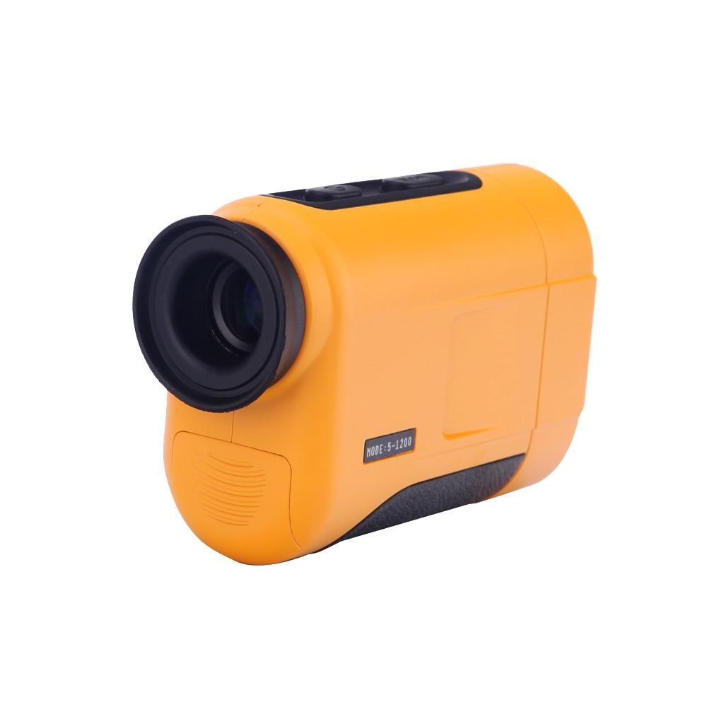 laser rangefinder hunting monocular telescope 1200M Range Finder Binoculars camping golf Handheld Distance meter 1200m powerful 6x25mm long distance measure 1200m golf laser range finder