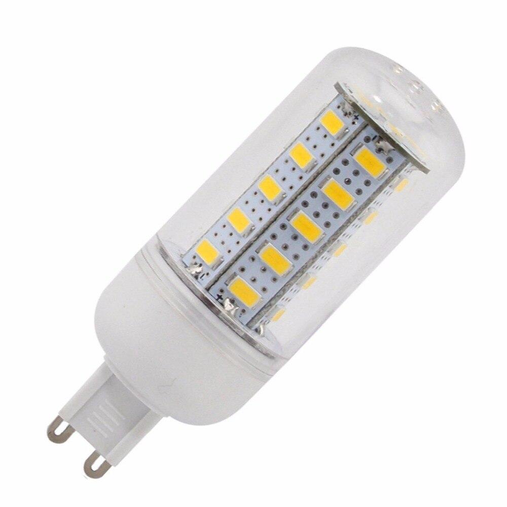 10 шт. 7 Вт G9 светодиодные огни кукурузы T 36 SMD 5730 500 LM Кукуруза, прожектор, лампа светодиодная LED лампа 360 градусов AC 220-240 В ...