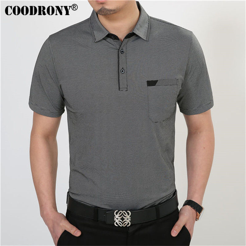 Free Shipping Short Sleeve T Shirt Cotton Clothing Men T-Shirt With Pocket Casual Dress Factory Wholesale Plus Size S XXXXL  3