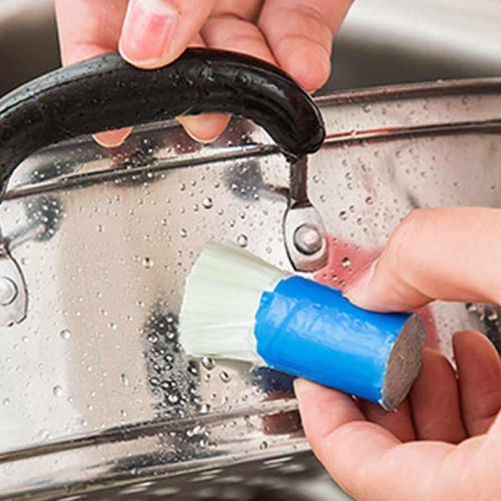 Щетки волшебная палочка для удаления ржавчины Чистящая щетка для кастрюли Cleaner Инструмент высокое качественное чистящее средство # K2