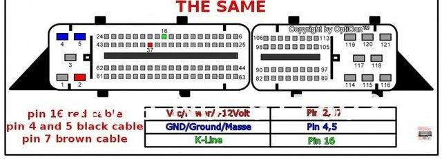 Aliexpress.com : Buy VAG 81pin ECU OBD F+DC Cable 81 pin