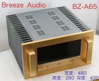 BRZHIFI BZ A65 radiador duplo caso de alumínio para o amplificador de potência|Amplificador|   -
