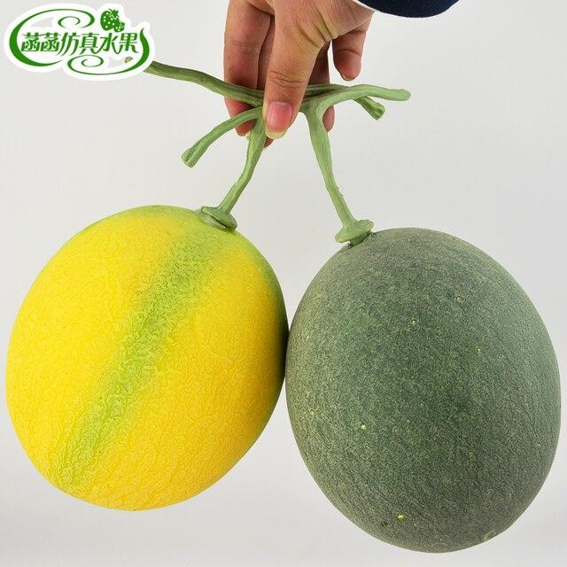 Искусственные фрукты еда модель реквизит пена дыни