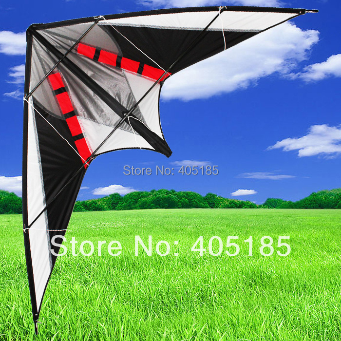 Free Shipping Outdoor Fun Sports Power Stunt Kite with Flying tools Sale все цены