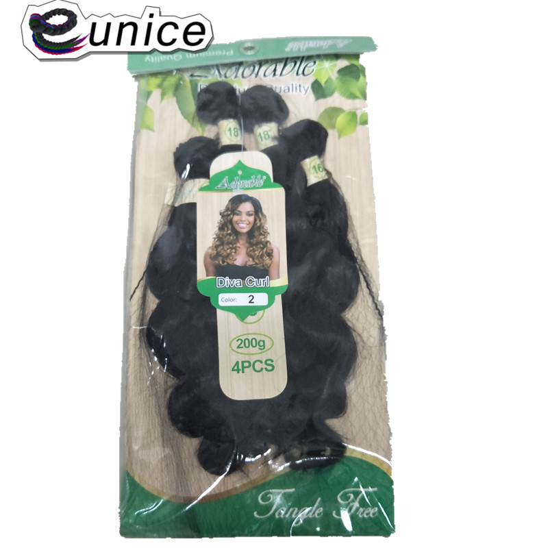 synthetic Weaving deep loose wave for black  (11)