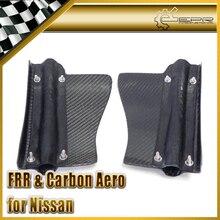 Автомобиль-Стайлинг углеродного волокна задний тормоз охлаждения комплект fibre двигателя Аксессуары пригодный для Nissan 2008-2011 R35 GTR