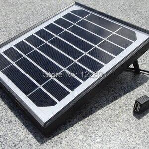 BUHESHUI 5W 5V Solar Charger F