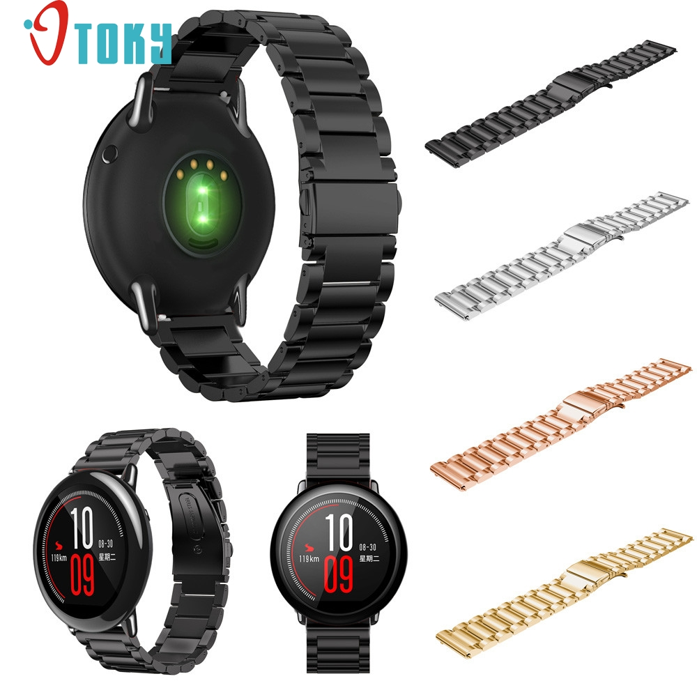 Hot Sale OTOKY Fabulous Stainless Steel Bracelet Smart Watch Band Strap For Xiaomi Huami Amazfit A1602 Wrist Watch Band D