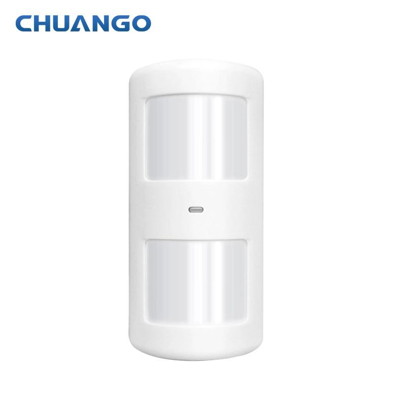 315Mhz Wireless Intelligent PIR Motion Sensor Detector For Chuango GSM Home Alarm System
