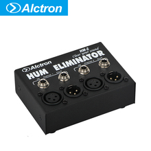 Alctron HM-2 hum eliminator to reduce the noise for professional recording studio,living stage,concert such occasions