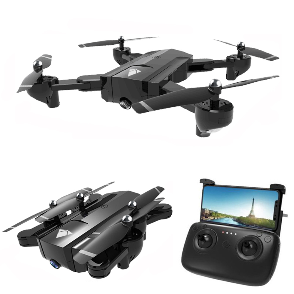 SG900 WiFi FPV แบบพับเก็บได้ RC Helicopter Drone with HD 720 จุดกล้อง Quadcopter โหมด Headless Hold ความสูงโดย Optical flow-ใน เฮลิคอปเตอร์ RC จาก ของเล่นและงานอดิเรก บน   1