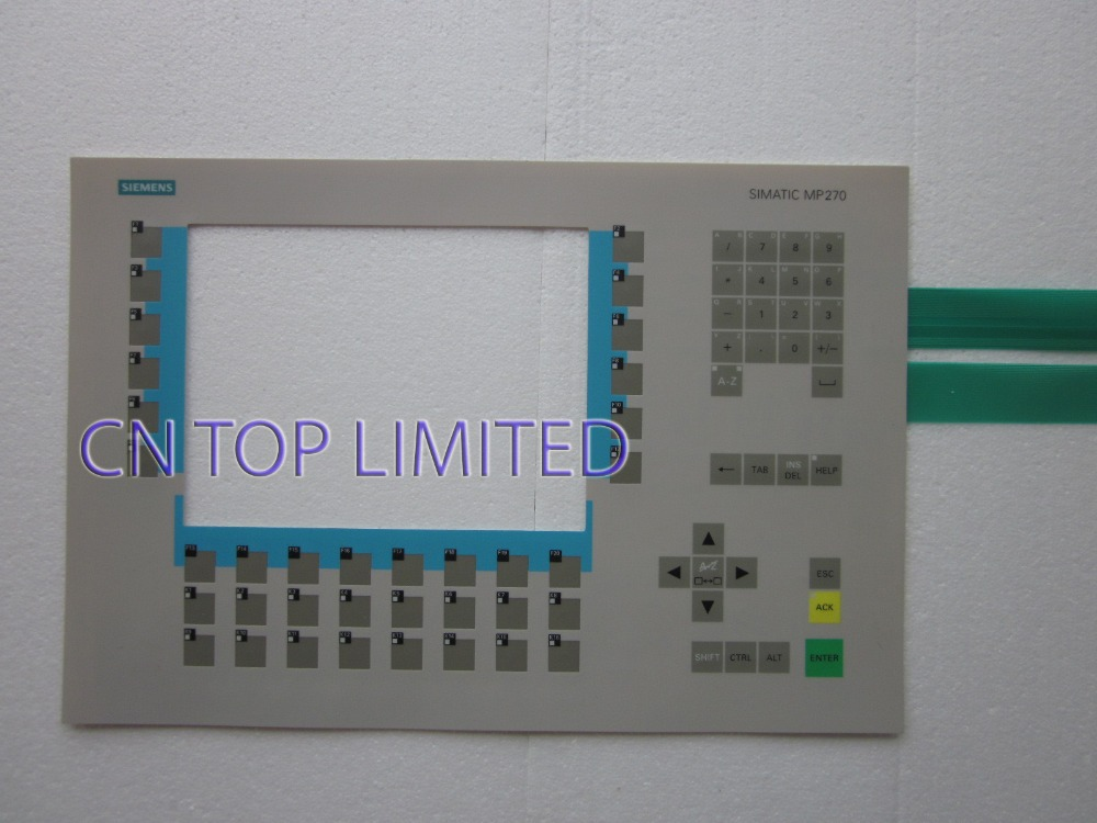 New Membrane Keypad operation panel Button mask for MP270-10 6AV6542-0AD15-2AX0 new membrane keypad operation panel button mask for mp270 6av6542 0ac15 2ax0