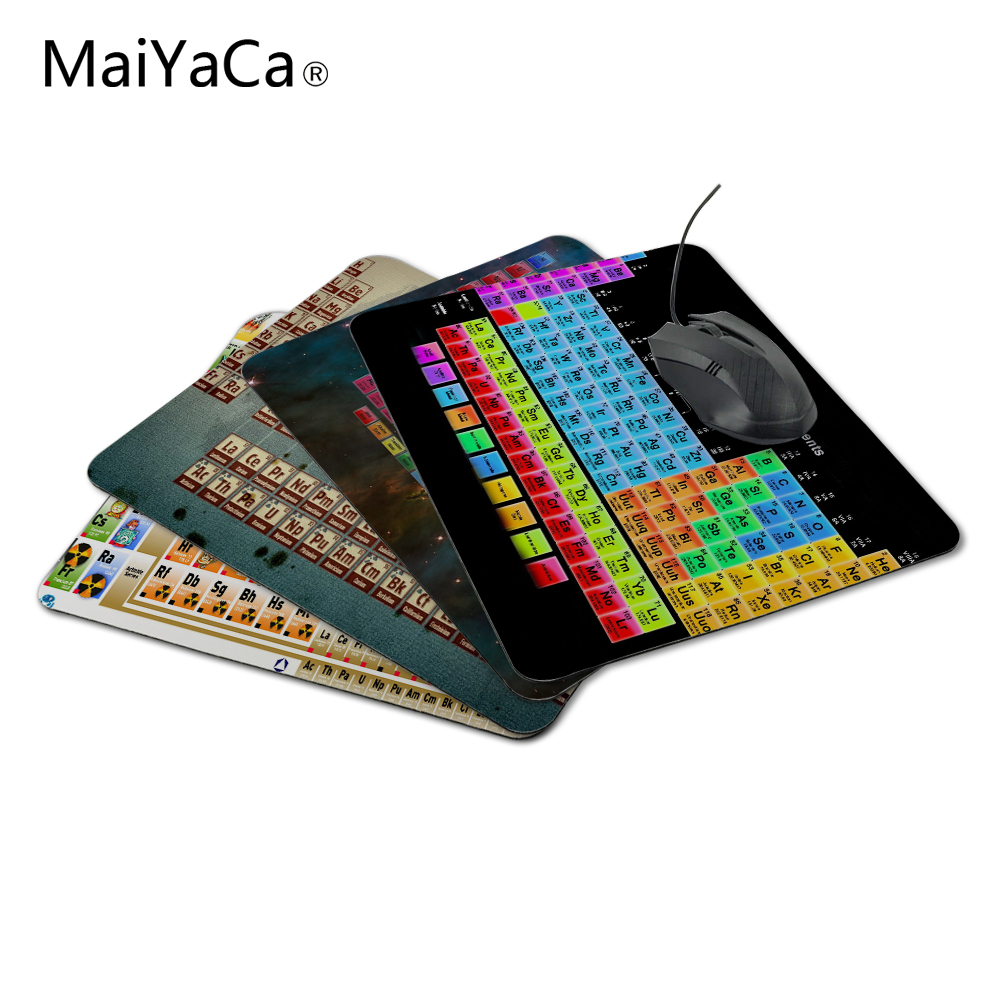MaiYaCa Custom High Speed Periodic Table Of The Elements Vintage Stylish Mouse Pad Gaming Rectangle Mousepad