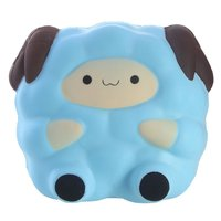 Cartoon Jumbo Sheep 13 5CM Squishy Toys Anti Stress Slow Rising Squeeze Toy Phone Strap DIY