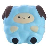 Cartoon Jumbo Sheep 13 5CM Squishy Toys Anti Stress Slow Rising Squeeze Toy Phone Strap DIY