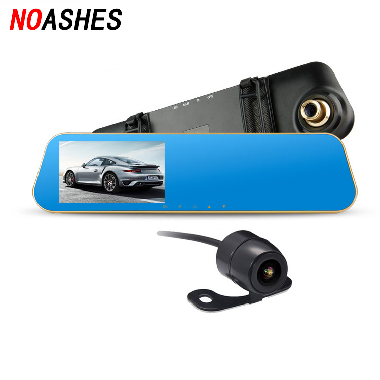 car font b camera b font dual lens rearview mirror auto dvrs cars font b dvr