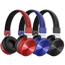 Wireless Headset Music High Fidelity Stereo Bluetooth Plug-in TF Card Microphone