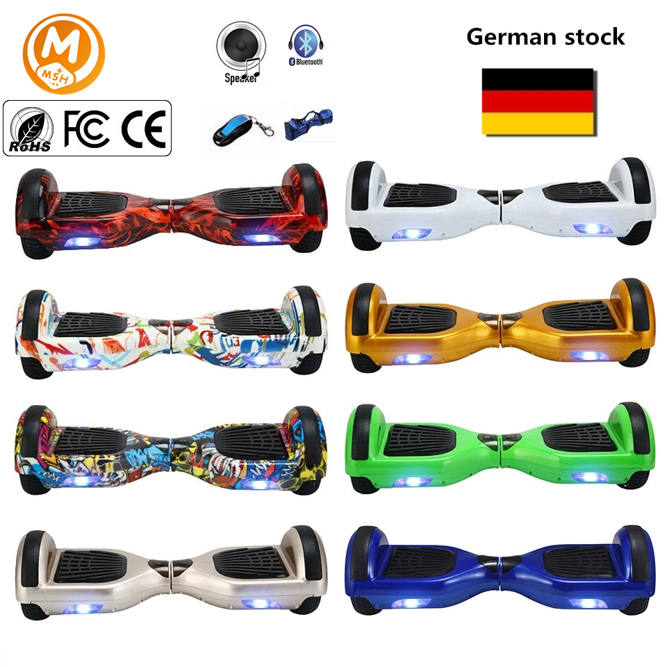 Roue intelligente d'équilibre Hoverboard Skateboard Drift de monocycle électrique équilibrant le scooter debout Hoverboard Hoover Hover Board