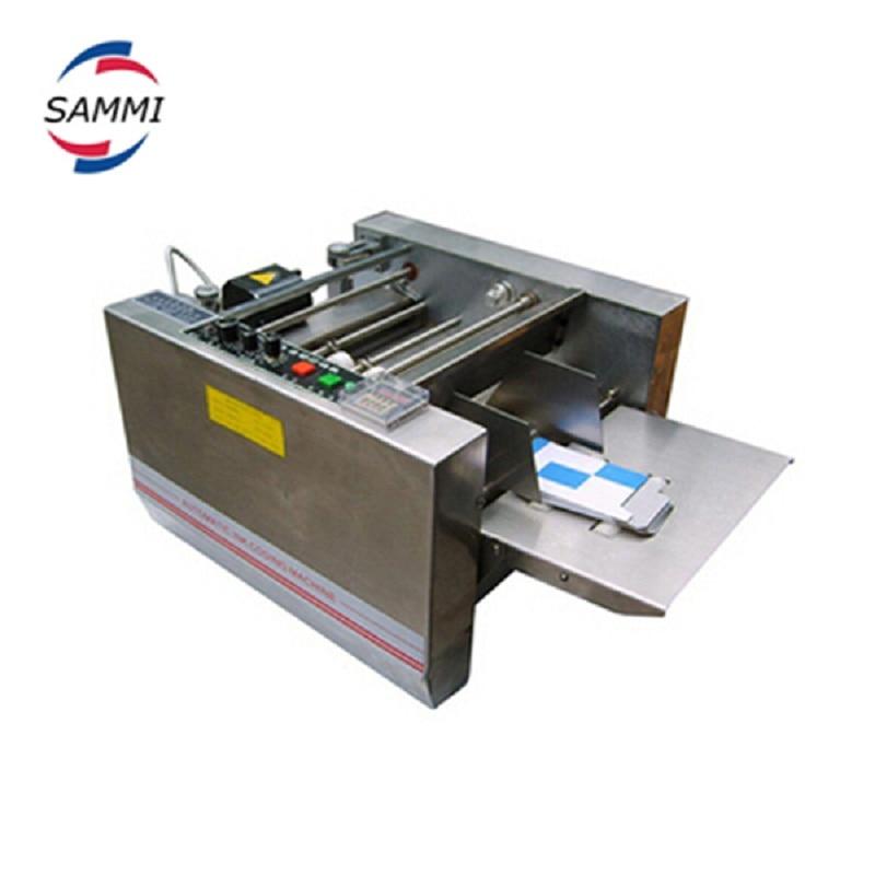 MY 300 steel seal Carton box coding machine , folding box printing machine