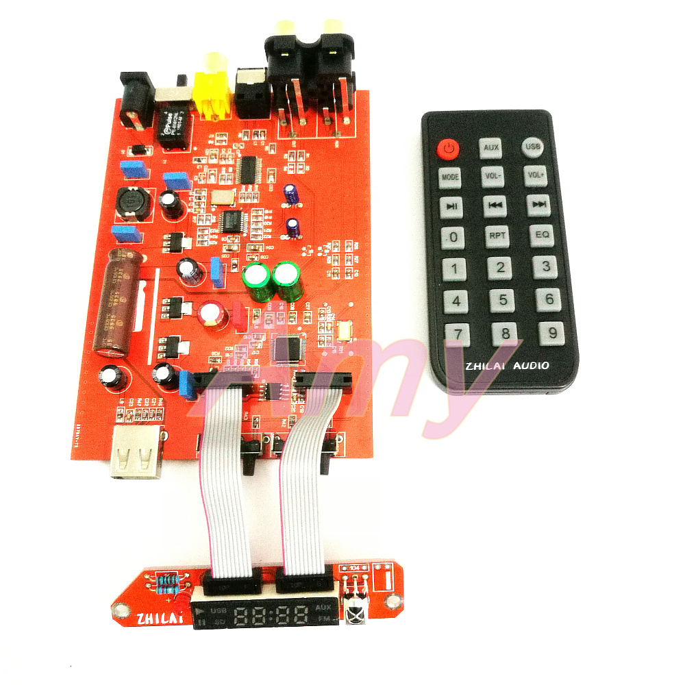 DIY Lossless Music APE Player Board HiFi Fever Decoder DAC Fiber Coaxial Digital Analog Output