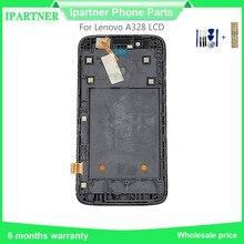 Для lenovo A328 ЖК дисплей сенсорный экран планшета Ассамблеи с рамки Замена Высокое качество 4,5 дюймов