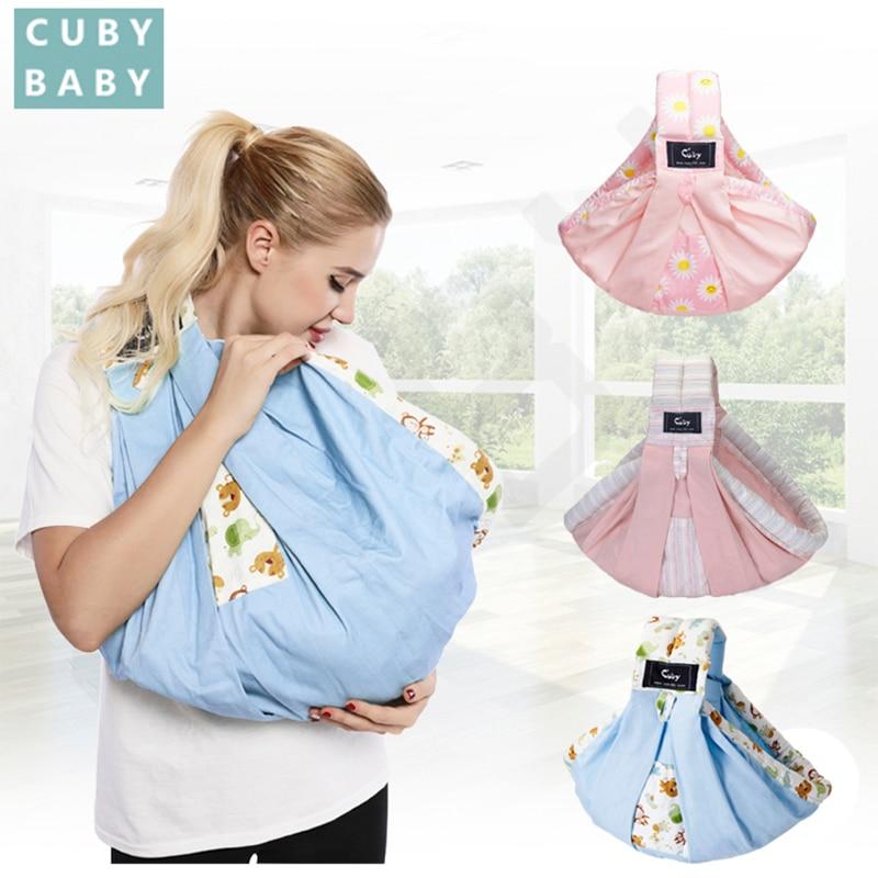 Cuby Baby Carrier Sling Wrap Cotton Hands-free Baby Sling para - Actividad y equipamiento para niños - foto 1