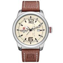 2019 NEW Luxury Brand NAVIFORCE Men Sport Watches Men's Quartz Clock Man Army Military Leather Wrist Watch  Relogio Masculino