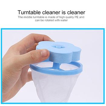Wielokrotnego użytku pralka akcesoria Lint filtr torba do czyszczenia piłki pralnia kulki tarcze brudne z włókna filtr pokrowiec siatkowy tanie i dobre opinie HG-103971 Czyszczenie Aihogard 14 * 9 5 cm blue pink orange green Polyester + PE+EVA