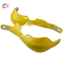 1 Pair YELLOW HAND GUARDS MOTORCYCLE MOTOCROSS DIRT BIKE ATV SCOOTER MX HANDGUARD