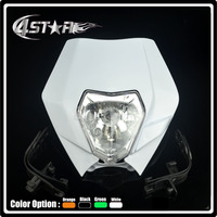Universal Headlights Headlamp Street Fighter Motorcycle Dirt Bike Motocross Supermoto CR YZ RM KX KTM DR