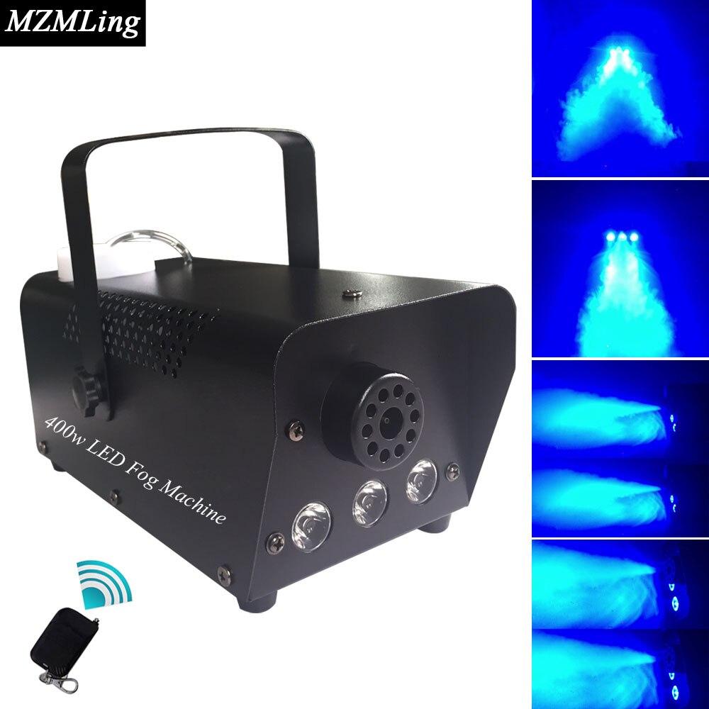 ФОТО 400w 0.5L Led Fog Machine 110/230v 3*3w Smoke Machine Wire/Remote Control Professional Stage DJ/Bar/Home Entertainment Fogger