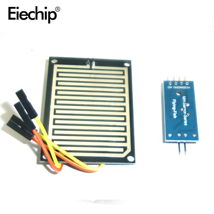 Rain Sensor Water Raindrops Detection Module For Arduino Raspberry Simple Detector Circuit And Explanation Electronic Circuits Pi In Integrated From Components Supplies On