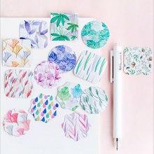 45 pcs/box kawaii grass mini paper sticker DIY decoration Scrapbooking Label Seal Sticker Stationery