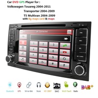 CAR GPS For VW Volkswagen Touareg T5 Transporter Multivan dvd player radio multimedia navigation PC 1080P USB Bluetooth SWC DAB+